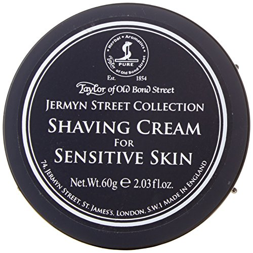 Taylors of Old Bond Street Shaving Cream (60 ml, Jermyn Street) - Perfect for Travel