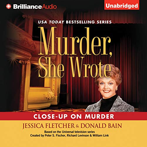 Murder, She Wrote: Close-Up on Murder audiobook cover art