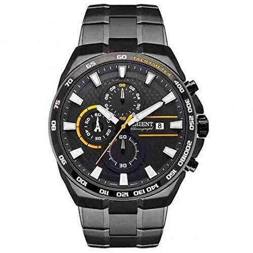 Relógio Orient Masculino Ref: Myssc007 G1gx Cronógrafo Grafite