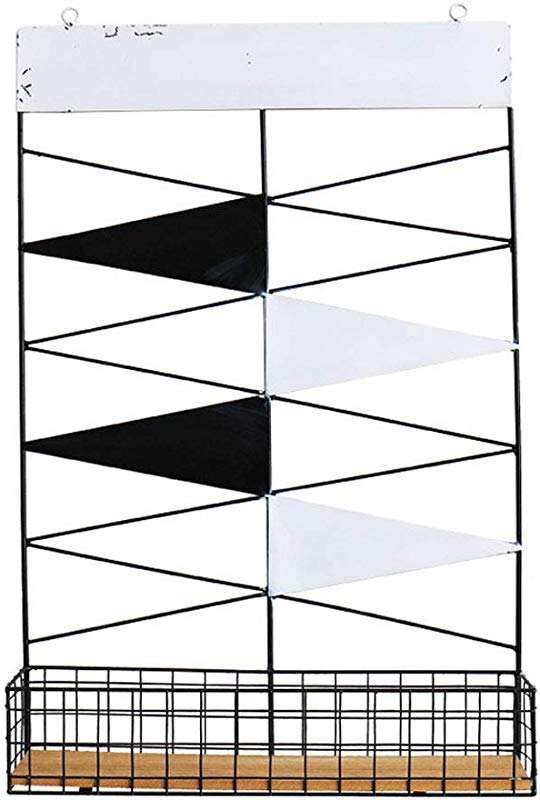 Wall Grid Panel For Photo Hanging Display And Wall Decoration Organizer Multi Functional Wall Storage Display Grid Color White