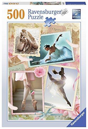 Ravensburger–14647–Prima Ballerina Puzzle–500Teile