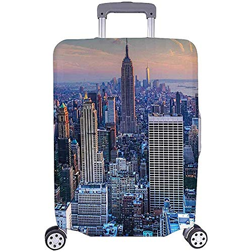 Coffre à Bagages, Manhattan New York City Skyline...
