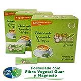 DULCILIGHT STEVIA EDULCORANTE GRANULADO NATURAL sabor muy similar al Azúcar Stevia con Miel de Caña Orgánica TOTAL 300 Sobres, Producto Sabor Premium Gourmet