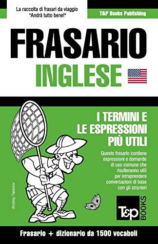 Frasario Italiano-Inglese e dizionario ridotto da 1500 vocaboli