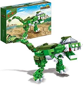135-Pieces Educational Stem Activity Dinosaur Building Blocks Kit