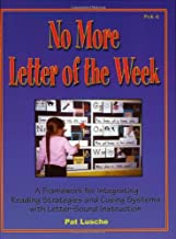 No More Letter of the Week: A Framework for Integrating Reading Strategies and Cueing Systems With Letter-Sound Introduction