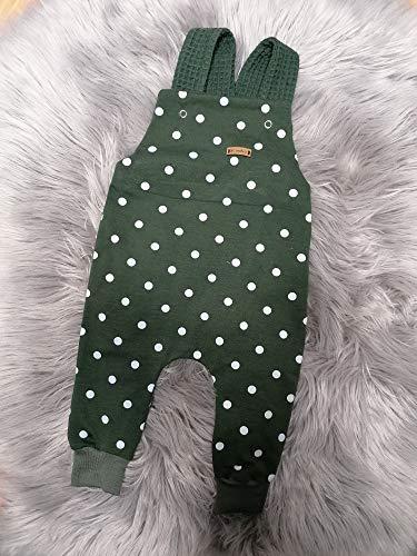 Baby Kinder Latzhose Punkte Strampler Gr. 68/74