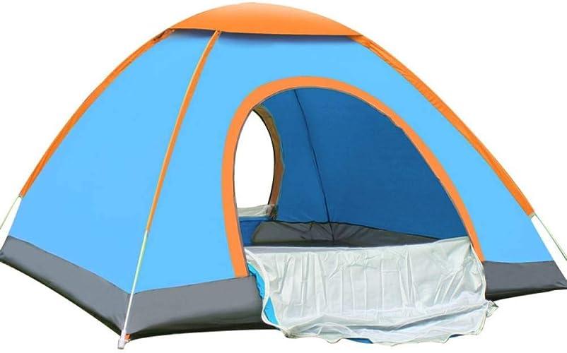 ZZPEO Tente De Camouflage Tente De Camping Pliante Tente De Pêche portable Ultra-Léger Plage équipeHommest De Randonnée Tentes Antipluie 3-4