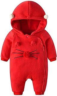 GYUANLAI Female Baby Infant Onesies jumpsuit Cotton Soft Warm Autumn Winter children Newborns Sleepwear Outfit