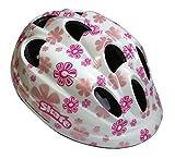 Atala Casco Bambina Sport Skate Girl Taglia M 52-56, Regolabile, Colore Bianco Rosa Fuxia