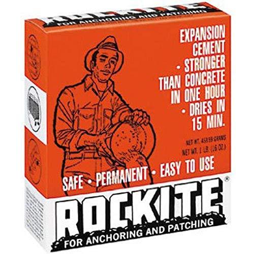 Rockite Expansion Cement 15 Min 1 Lb