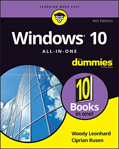 Windows 10 All-in-One For Dummies,, 4th Edition