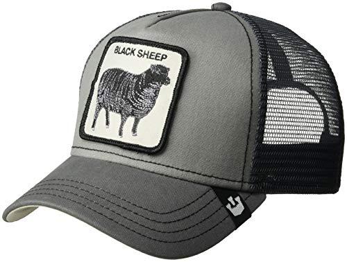 Goorin Bros. Men's Animal Farm Snap Back Trucker Hat, Gray Sheep, One Size
