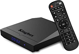 Kingbox Android TV Box, K3 Android 7.1 Box with Amlogic S912 Octa-Core 64 Bits 2GB/16GB Support Dual WiFi 2.4+5GHz/BT 4.0/...