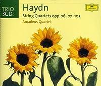 String Quartets opp. 76; 77; 103 (2002-07-28)