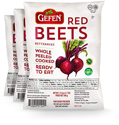 Vacuum-Packed Beets