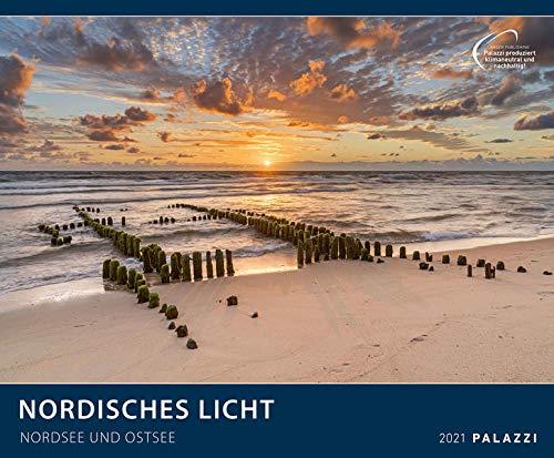 Nordisches Licht 2021 - Bild-Kalender - Wand-Planer - 60x50: Nordsee und Ostsee