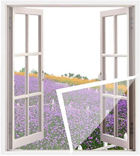 YINN Stabiles Katzennetz für Fenster,Schutznetz,Katzen Fenster Schutz Netz mit Selbstklebendem Klebeband,Fliegengitter zur einfachen Selbstmontage,Kann zugeschnitten Werden
