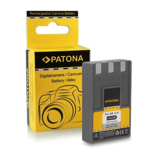 Bateria NB-1LH para Canon Digital Ixus 300 | 330 | 400 | 430 | 500 | 500 HS | VII | V | V2 | V3 | Canon Powershot Digital ELPH S100 | S110 | S200 | S230 | S300 | S320 | S330 | S400 | S430