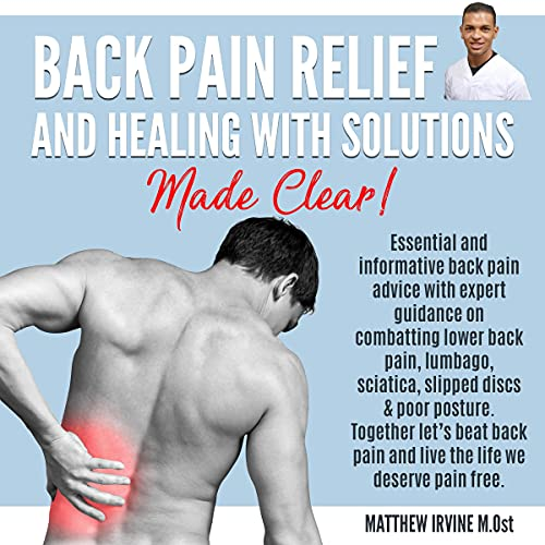 Back Pain Relief and Healing with Solutions Made Clear Titelbild