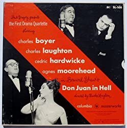 Paul Gregory Presents: The First Drama Quartette: Bernard Shaw's Don Juan in Hell