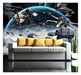 3D Fototapete Wandbild Star Wars Große Wandbilder Wandmalerei Umweltfreundliche Schlafzimmer Tapete, 200 Cm X 140 Cm