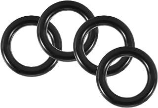 O Ring, svart PVC O-ring bevattning O-typ lång tids användning PVC gjord för rörfog