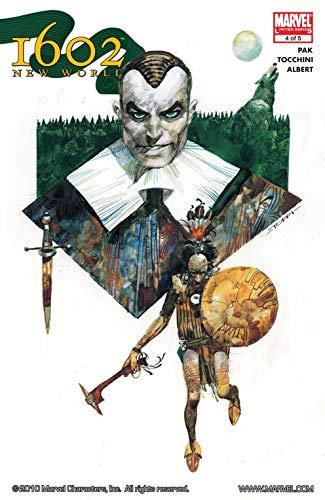 Marvel 1602 #4: New World (Marvel 1602: The New World) (English Edition)