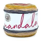Lion Brand Yarn 525-214 Mandala Yarn, Centaur, 1-Pack