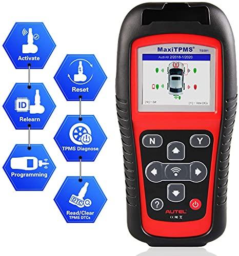 Autel MaxiTPMS TS501 TPMS Relearn Tool Automotive Scan Tool...