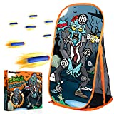 Quanquer Shooting Games Targets for Nerf Toy Foam Blaster Balls Popper, Ideal Festival Birthday Gifts Toys for Boys Indoor Outdoor Backyard Kids Shooting Practice
