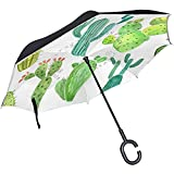 Ombrello Inverso Treking Unicorn Inverted Umbrella Reversible For Golf Car Travel Rain Outdoor