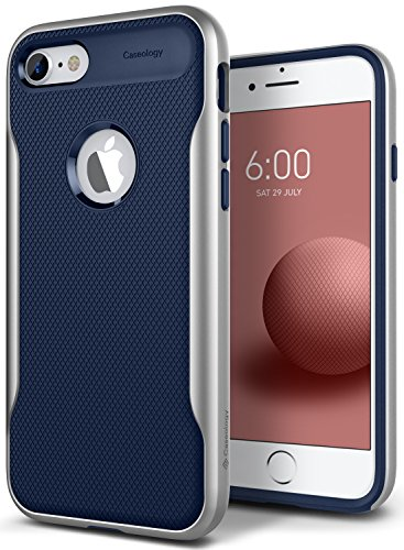 Caseology Apex 2 for Apple iPhone 8 Case (2017) / for iPhone 7 Case (2016) - Navy Blue