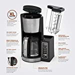 Ninja 12-Cup Programmable Coffee Maker with Classic and Rich Brews, 60 oz. Water Reservoir, and Thermal Flavor… 18 Hotter brewing technology: Advanced boiler for a perfectly hot cup of coffee Wake upto hot coffee 24 hour programmable delay brew allows you to prepare your brew upto a day in advance Keep coffee fresh and flavorful upto 4 hours with the adjustable warming plate