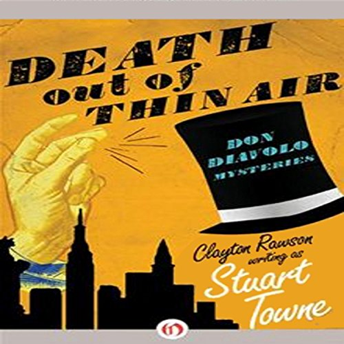 Death out of Thin Air audiobook cover art