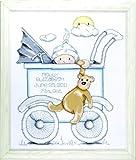 Tobin Design Works Buggy Kit de Point de Croix pour la Naissance d'un garçon...