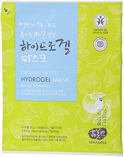 WHAMISA - Masque végétal - Extraits de fruits fermentés - Convient à tous les types de peau - Tomates bio et Lactobacillus - Effet lifting et tonifiant - Régénérant et antioxydant - Naturel - 33gr