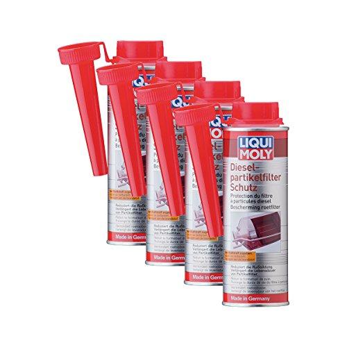 Liqui Moly 4 aditivos de combustible para filtro de partículas diésel 5148, aditivo DPF, 250 ml