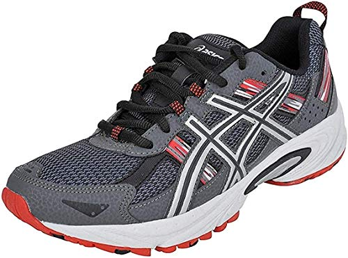 ASICS Men's Gel-Venture 5 Running Shoe (9 D(M) US, Castle Rock/Silver/Fiery Red)