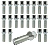 Tracer 20 Tornillos de Rueda M14 x 1,25 28 mm BM