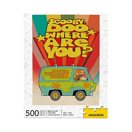 Scooby Doo Where Are You? 500 Piece Jigsaw Puzzle