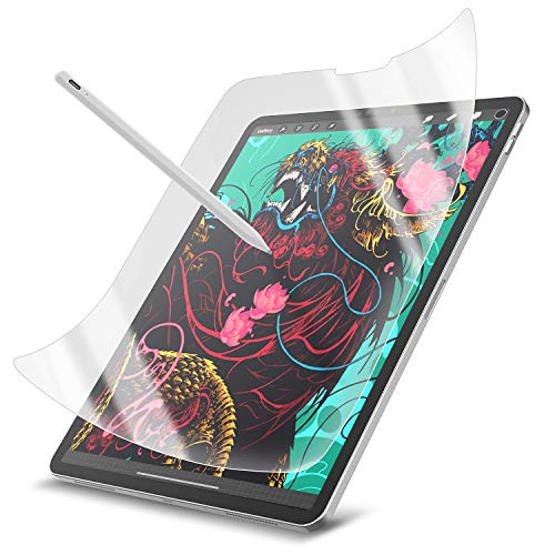 Boomdio [2 Pack] Screen Protector for iPad Pro 11 inch, Matte PET Paper Texture Film, Like writing On Paper, Compatible with Apple Pencil, High Touch Sensitivity/Anti-Glare/Anti-fingerprint