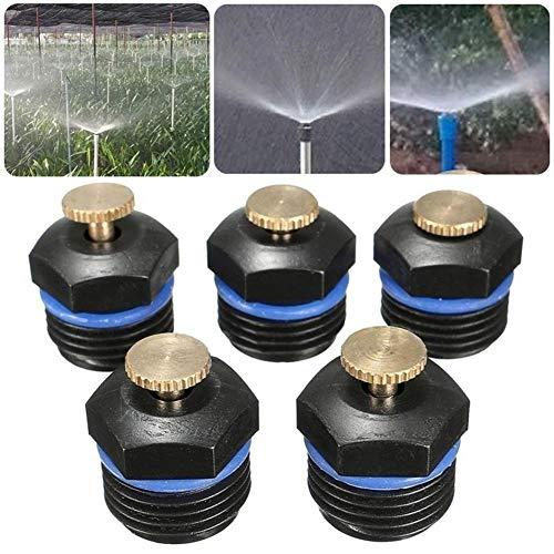 """MINGMIN-DZ Dauerhaft 10pcs / Set Sprinkler Gartenbewässerung Mikro-Durchfluss Dripper Tropfer Bewässerung Sprinkler 1/2\"""" Rasen Bewässerung Kopf Kühlspray"""