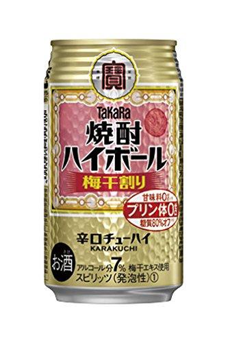 宝酒造 宝焼酎ハイボール <梅干割り> 350ml缶