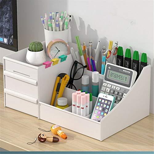 HONGLONG Schreibtisch Shelf Storage Rack, Haushalt Kunststoff Aufbewahrungsbox Schreibtischschublade, Make-up-Aufbewahrungsbehälter, EIN transparenter Acryl kosmetischer Aufbewahrungsbox