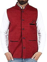 BIS Creations Mens Waistcoat - Nehru Jacket