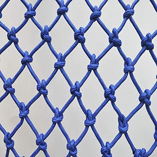 Kinder Haustier Isolation Schutznetz, Dekoratives Netz Kindersicherheitsnetz - Schutz Pflanzennetz Gebäudenetz Anti-Fall Nylonseil Netz Hängende Kleidung Hängematte Dekoration Schaukelseil Mehrfarbig