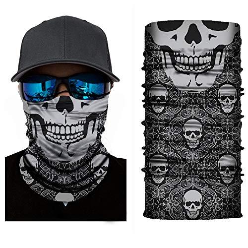 KGDUYH Exquisit Gesichtsschutz Funktionelle Kopfbedeckung Bandana/Schal Hals/Schal Stoff Gesichtsmasken Für Frauen, Männer (Color : A, Size : 25X50cm)