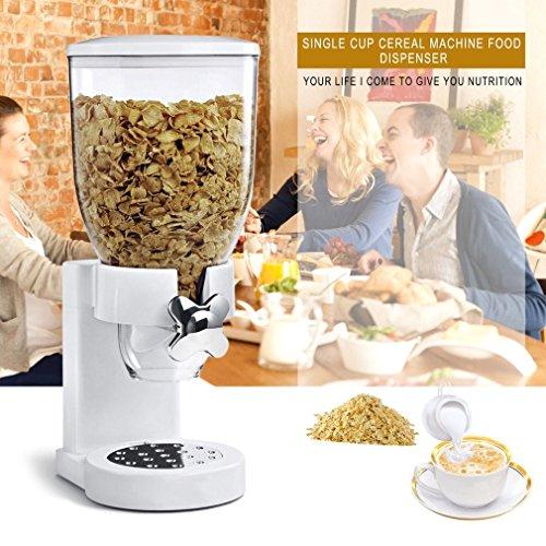 Hemore Müslispender für Trockenfutter, Spender, Küchenmaschine für Geschenk, Wohnaccessoires