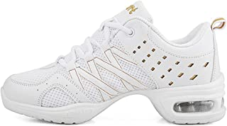 AOQUNFS Baskets de Danse Moderne Chaussures de Sport Femmes Outdoor Fitness Jazz Chaussure de Securite,LYX002